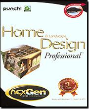 Punch! Home U0026 Landscape Design Professional (w/ NexGen)