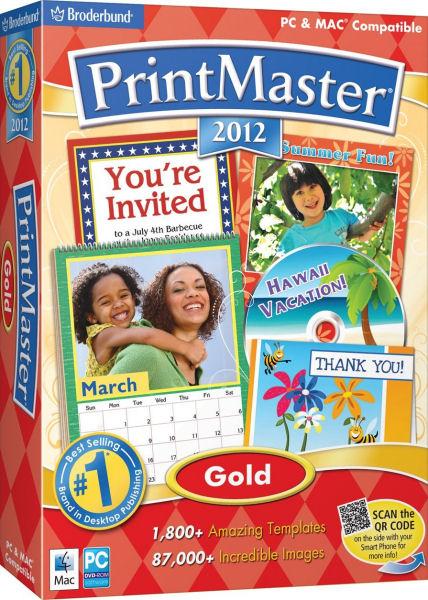 PrintMaster 2012 Gold