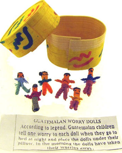 12 Boxes of Guatemalan Worry Dolls