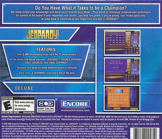Puzzles board games sony knight discounts online store puzzles board games sony knight discounts online store jeopardy deluxe american favorite quiz show solutioingenieria Images