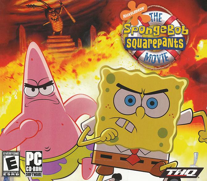 Details about spongebob squarepants the movie pc game sponge bob new