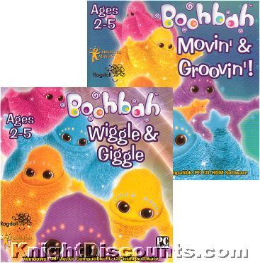 Boohbah 2xpack Movin Groovin Amp Wiggle Giggle New Pc Mac