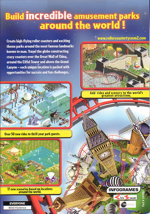 Details about Roller Coaster Tycoon 2 WACKY WORLDS Expansion RARE Add-on  Pack - PC Game - NEW