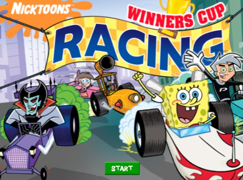 Nicktoons winners cup racing free download